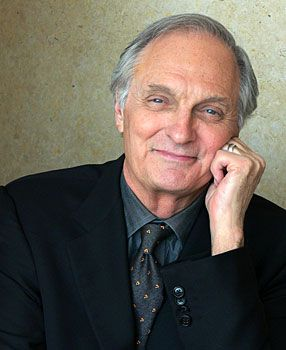 """Alan Alda:  """"Begin challenging your own assumptions. Your assumptions are your windows on the world. Scrub them off every once in awhile, or the light won't come in."""""""