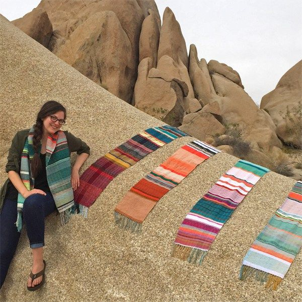 Today we are chatting with Vanessa Lauria of pidge pidge about her online weaving shop, color inspiration and handmade shop tips.
