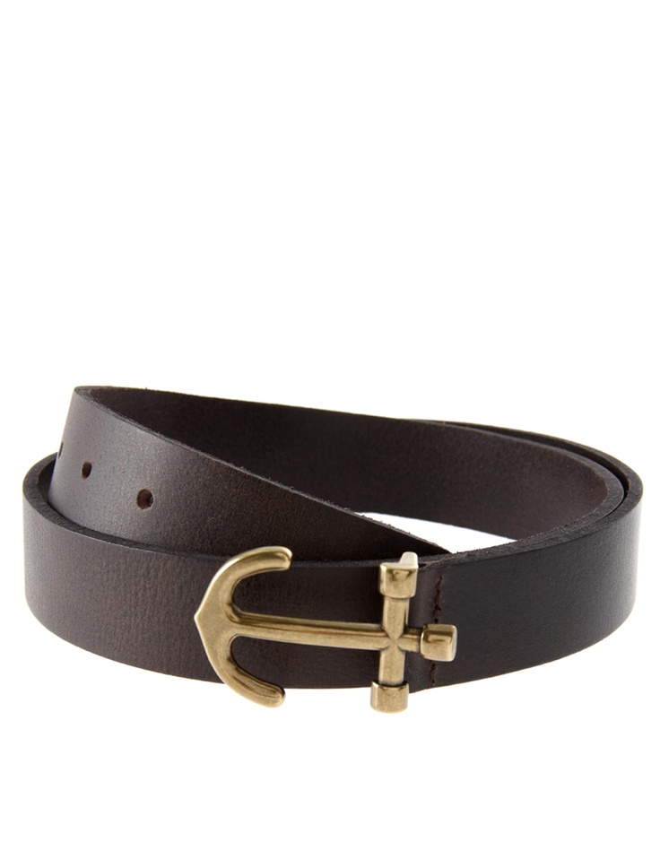 ASOS Anchor Buckle Belt $20.44