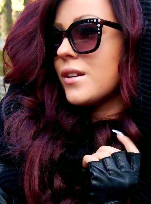 Haarfarben Lila 2015