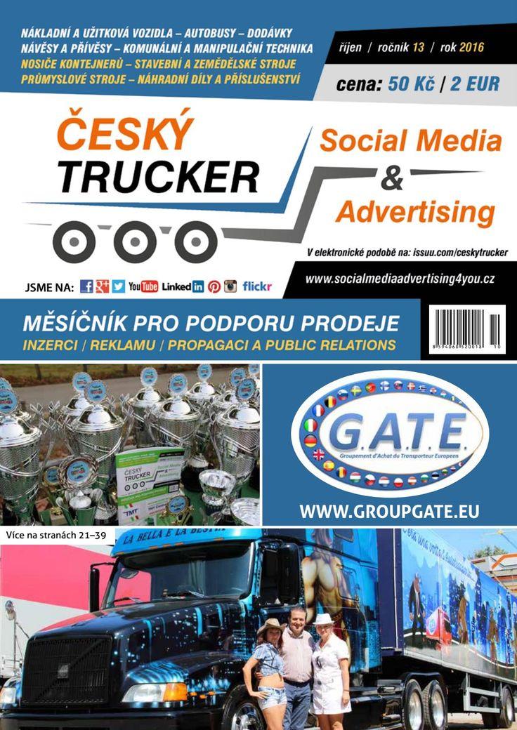Český Trucker - říjen 2016