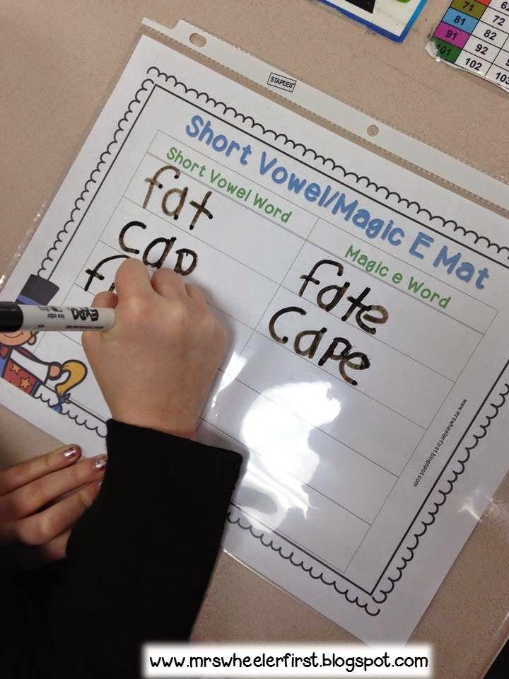Mrs. Wheeler's First Grade Tidbits: Magic E