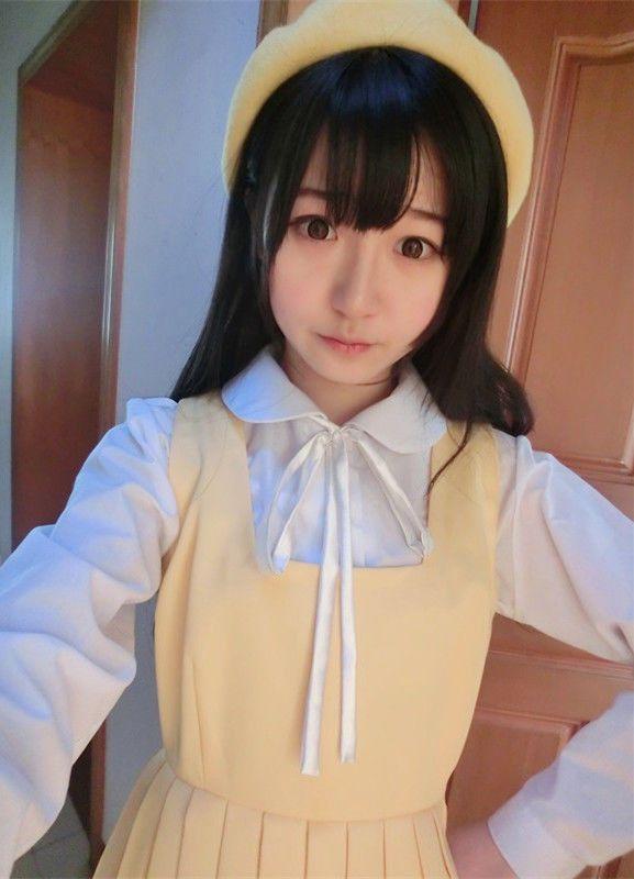 Cute Japanese School Uniform Style Girls French Toast JK Blouse Long Sleeve Peter Pan Collar Uniform Shirt Tops