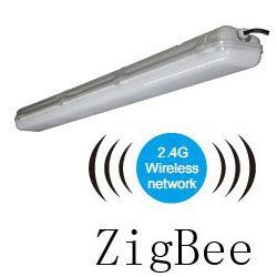 ZigBee Light Link led tri-proof light pc 50w 1200mm 250x250mm