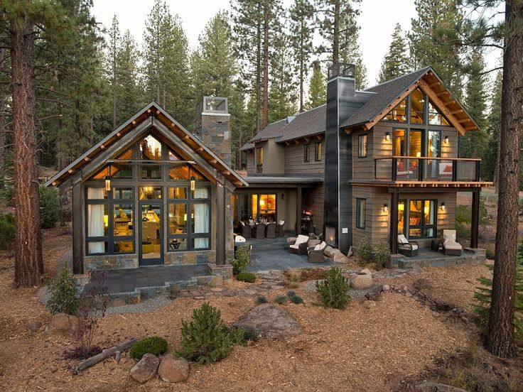 Best 25+ Rustic modern cabin ideas only on Pinterest | House ...