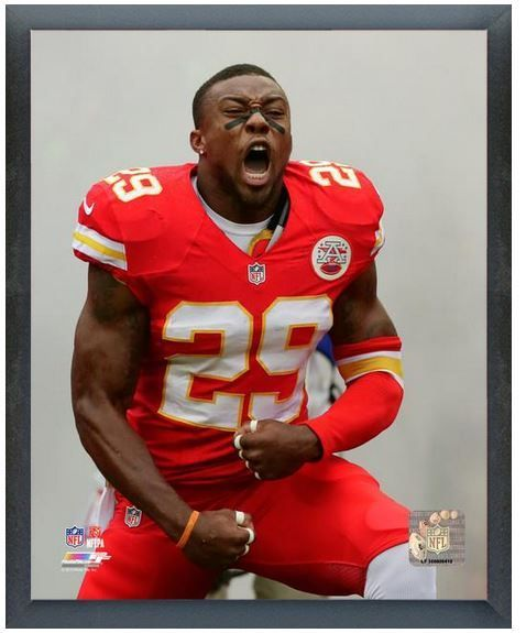 """Eric Berry 2013 Kansas City Chiefs -11"""" x 14"""" Photo in a Glassless Sports Frame"""