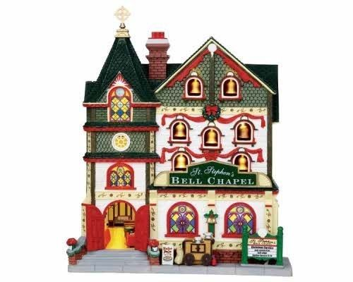 Lemax Village Collection St. Stephen Facade Battery Operated # 15249