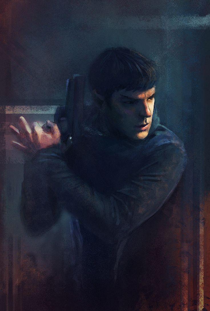 Spock by Peivi.deviantart.com on @deviantART