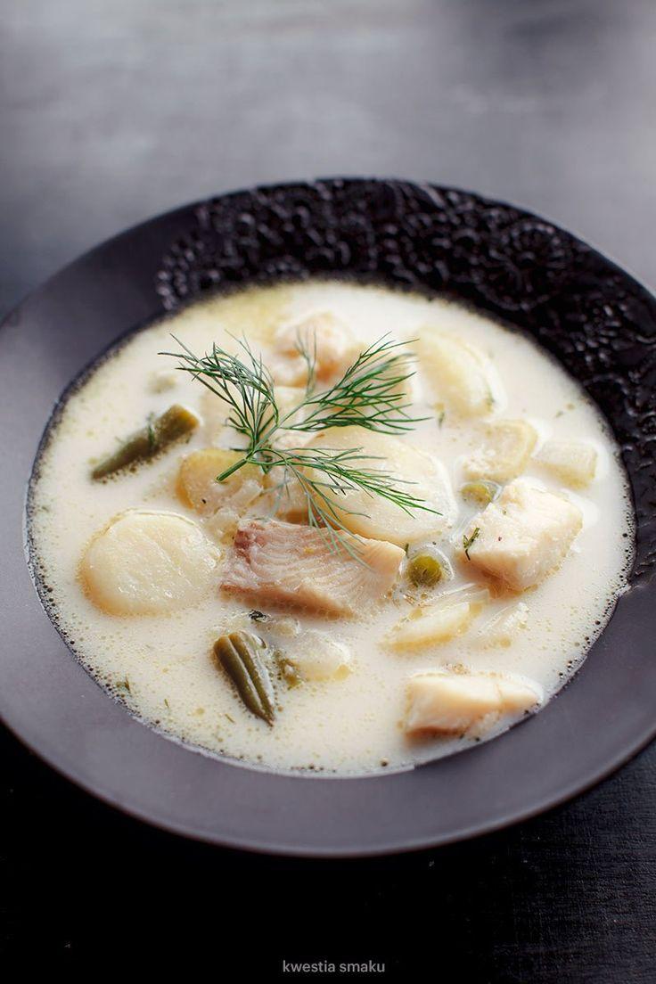 Zupa z koprem włoskim i rybą