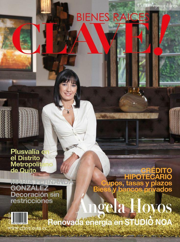 Edición 47  En Portada Ángela Hoyos a cargo y con renovadas energías en STUDIO NOA  Foto: Chris Falcony