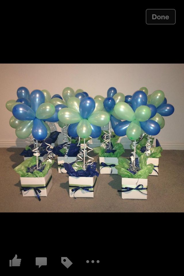 The 64 best images about swim banquet ideas on pinterest for Balloon decoration instructions