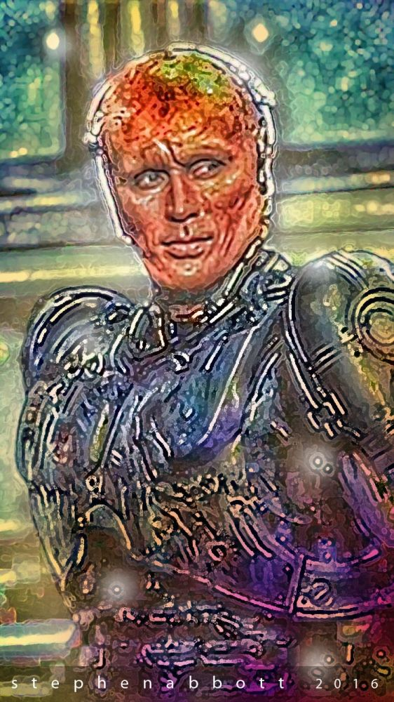 Peter Weller by Henstepbatbot