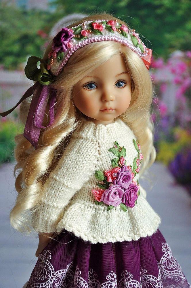 Bambola Pupazzo Precise Bambolina Porcellain Doll Bambole E Bambolotti