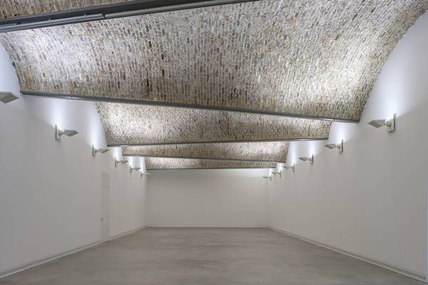 Art Museum in Ravensburg by Lederer Ragnarsdóttir Oei.  Brick barrel vaulted ceiling.  Not just a white box.