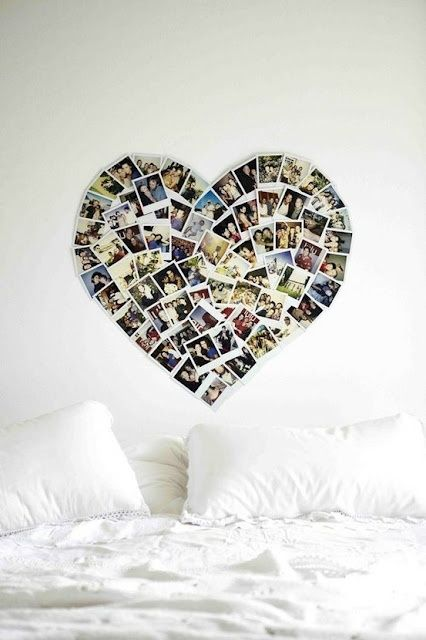 DIY photo collage @ DIY Home Ideas