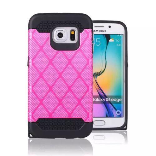 Ab 1.99€ - 2-in-1-Luxus-Handyhuelle-Schutzhuelle-Handy-Huelle-Tasche-Samsung-Galaxy-S6-Edge
