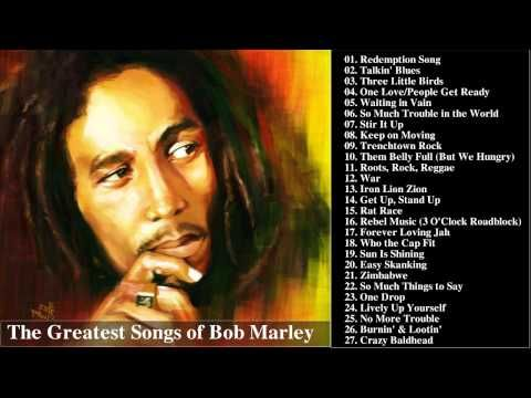 Bob Marley's Greatest Hits || The Best Songs Of Bob Marley