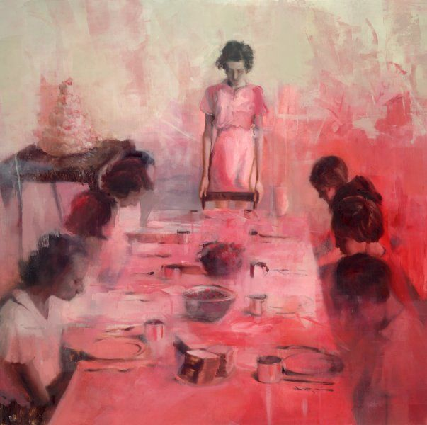 Joshua Flint American B Merced Ca Usa Soft Preoccupations Paintings Oil On Wood Panel