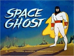 Space Ghost--Sooo many College Memories attatched to this.Remember, Saturday Mornings Cartoons, Spaces Ghosts, Inner Geek, Hanna Barbera, 1970S, Childhood, Cartoons Network, Classic Cartoons