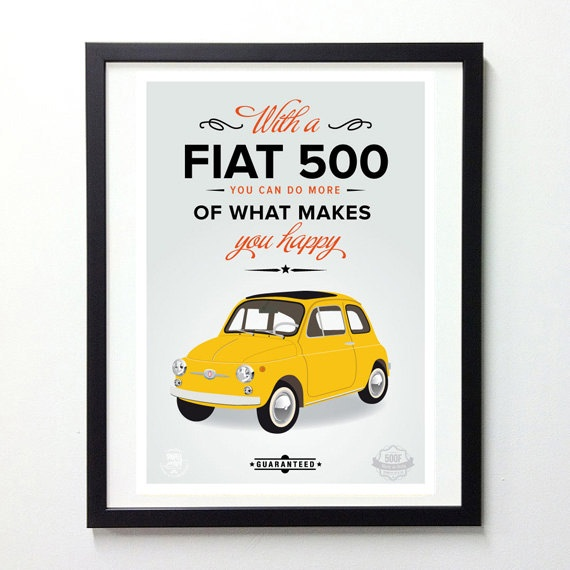 Vintage original Fiat 500