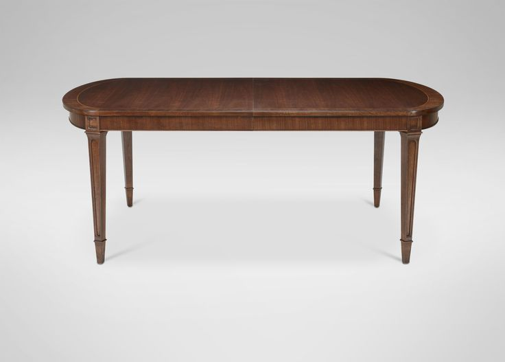 Image On antique style Lynnwood Dining Table Ethan Allen