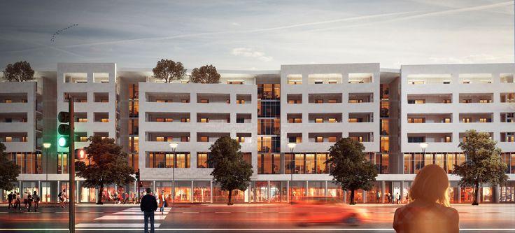 New Residential Buildings in District 2, Yiwu, China (ReCS Architects: Pier Maria Giordani, Chen Zhen, Samuele Camolese, Mario Scaffardi ▪ 2016)
