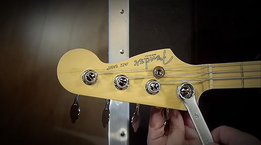 Learn to change machine heads on #Fenderbasses! John Dreyer demonstrates #howto change machine heads on both a modern and #vintage #Fender #bass.