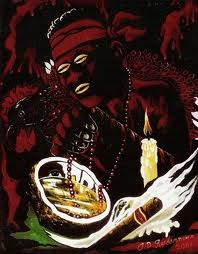 Elegua is the first Orisha that is appeased in the ceremonies and rituals of Santeria.