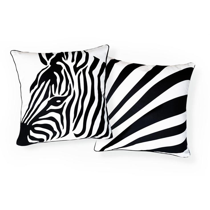 Zebra & Stripes PillowZebras Stripes, Revere Pillows, Zebras Pillows, Zebra Stripes, Naked Decor, Zebras Prints, Decor Pillows, Stripes Pillows, Decor Zebras