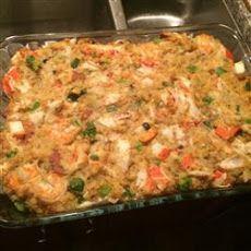 Savannah Seafood Stuffing Recipe