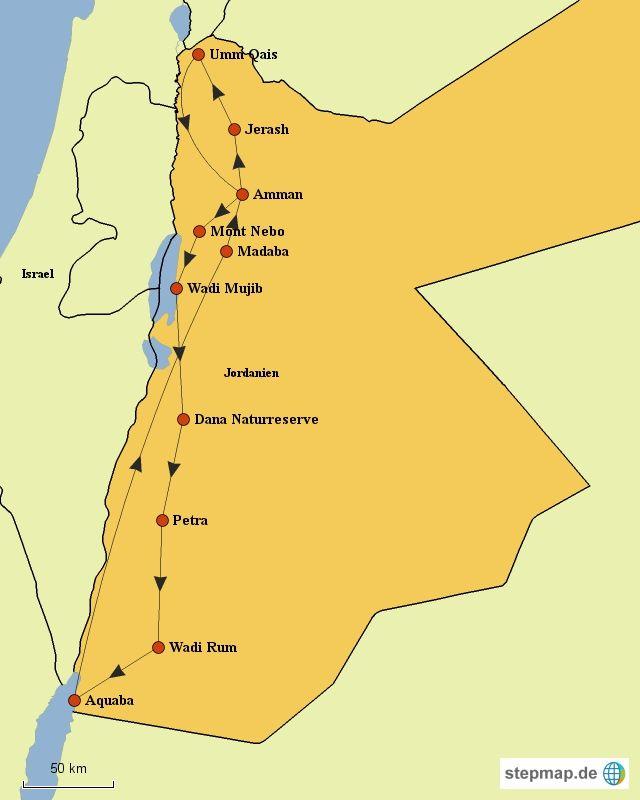 Ein Roadtrip durch Jordanien – Selbstfahrer-Rundreise in 10 Tagen!
