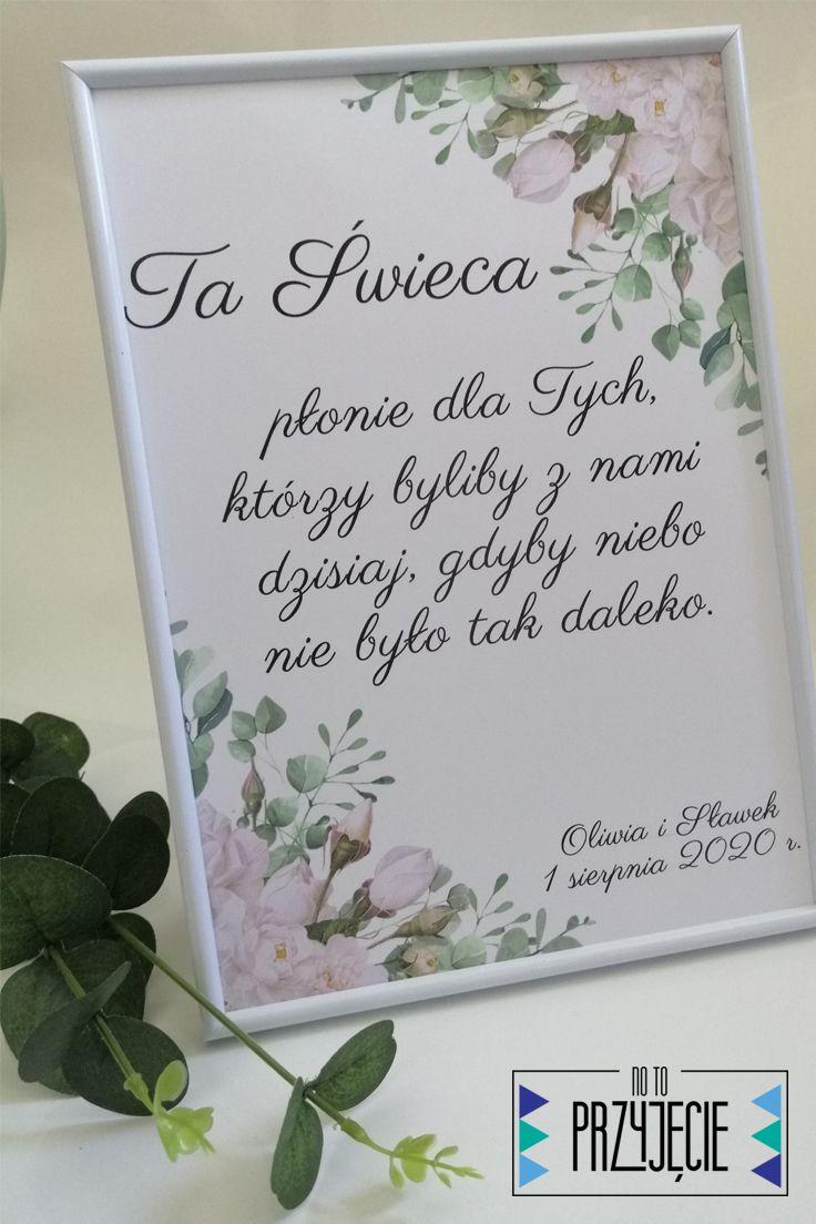 Plakat Ta Swieca Wedding With Kids Our Wedding Rustic Wedding
