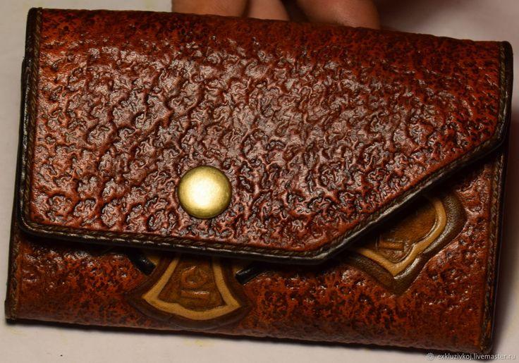Купить Эксклюзивный женский кошелёк. - сумка из натуральной кожи, чехол для телефона, изделия из кожи