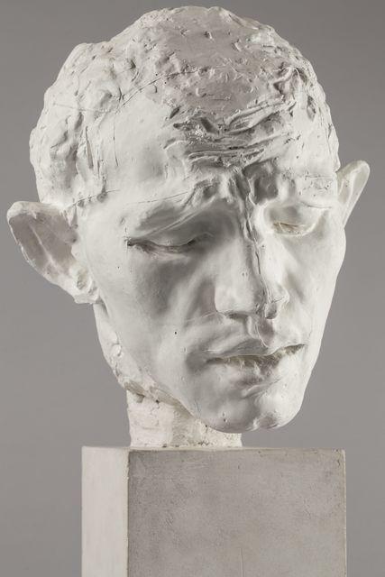 Pierre de Wissant, tête type C (Pierre de Wissant, type C head)  c.1885-1886, Auguste Rodin
