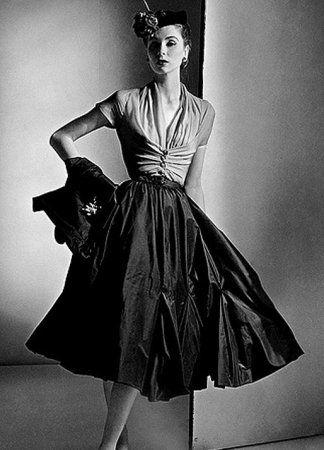 Платья в стиле 50-х гг. (фото)