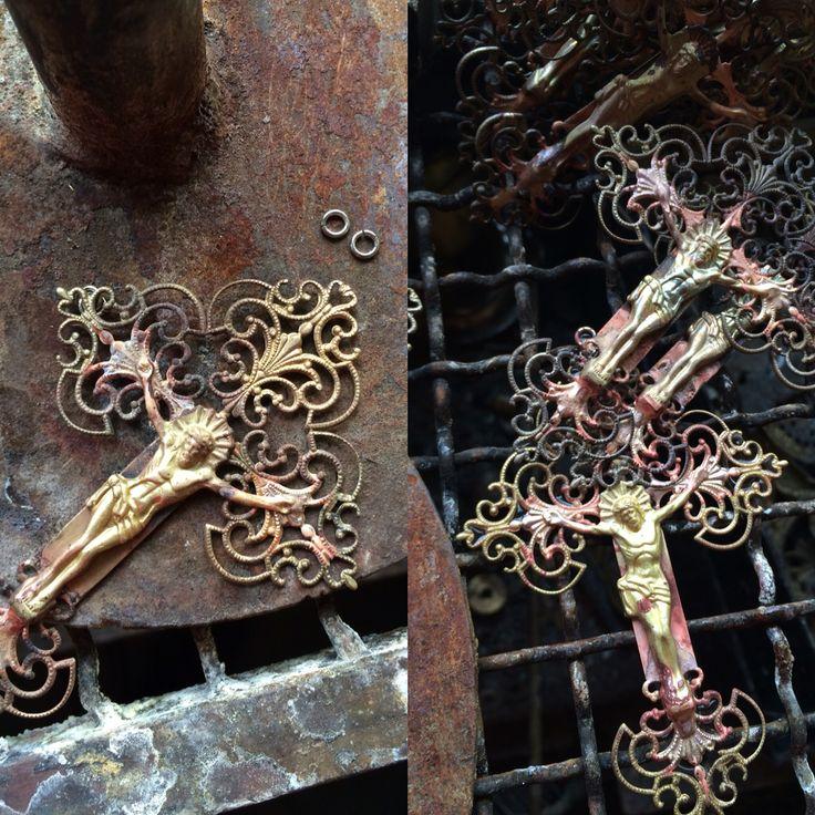 Orthodox Metal Cross Hand Made @nioras.com