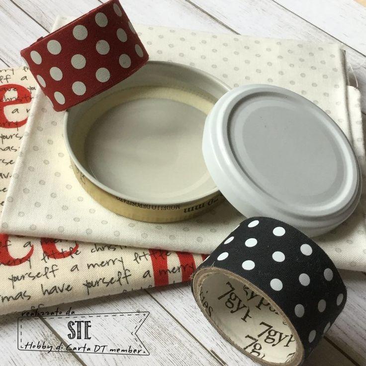 Siete pronti per un nuovo appuntamentodi riciclo creativo? Questa volta ho pensato di usare icoperchi e le capsule dei vasi di vetro per ...