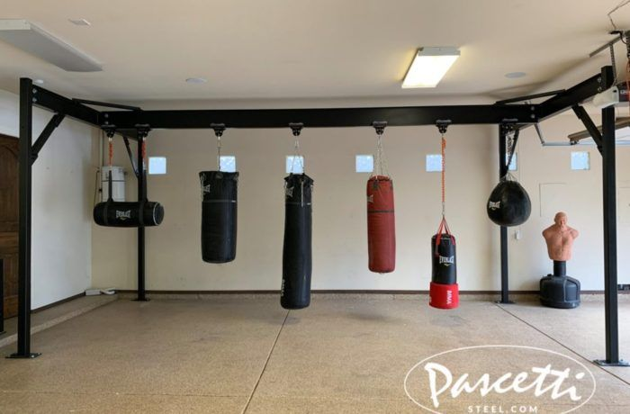 The Phat Rack Free Standing Punching Bag Frame By