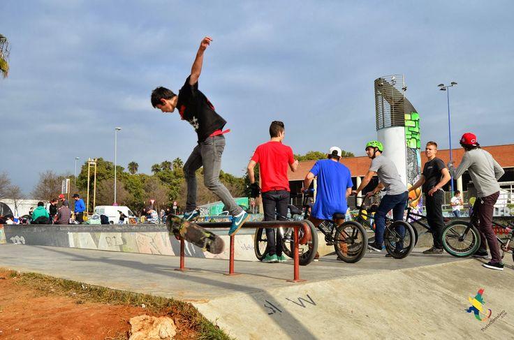 skateboard, skaterpark, Tony Hawk, BMX, Sevilla, photoseville, plaza de armas, sports, blue, skill, hostelsevilla, tourismospain, andalucia,...