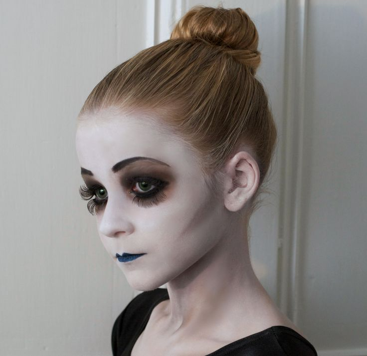 Dead Ballerina. Halloween makeup. Jimmy Cattin makeup. Halloween ideas