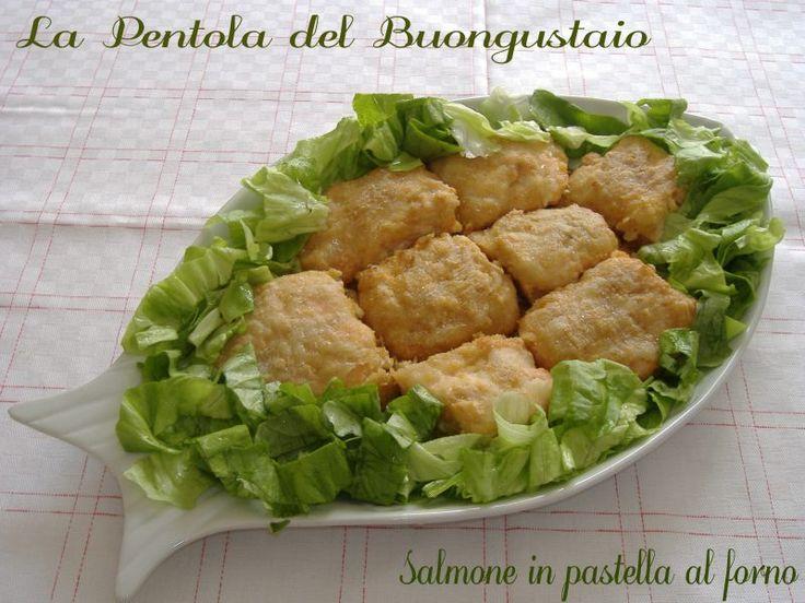 Salmone+in+pastella+al+forno