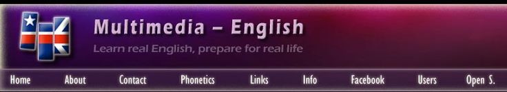 Multimedia-English - learn real English, prepare for real life
