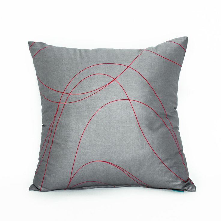 Modern Red Decorative Pillows : 16