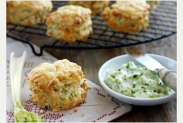 Feed the family for a fiver with cheese, celery and walnut scones