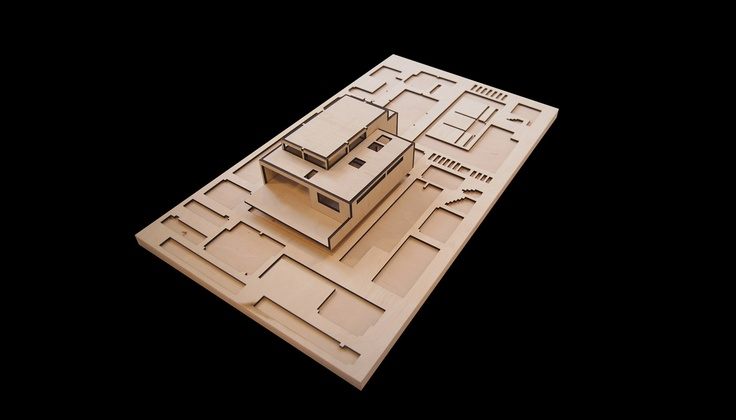 Hoof Slaapkamer Idees : Model by Quinn Architects Places Pinterest ...