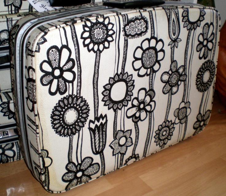 vintage suitcase Marimekko!