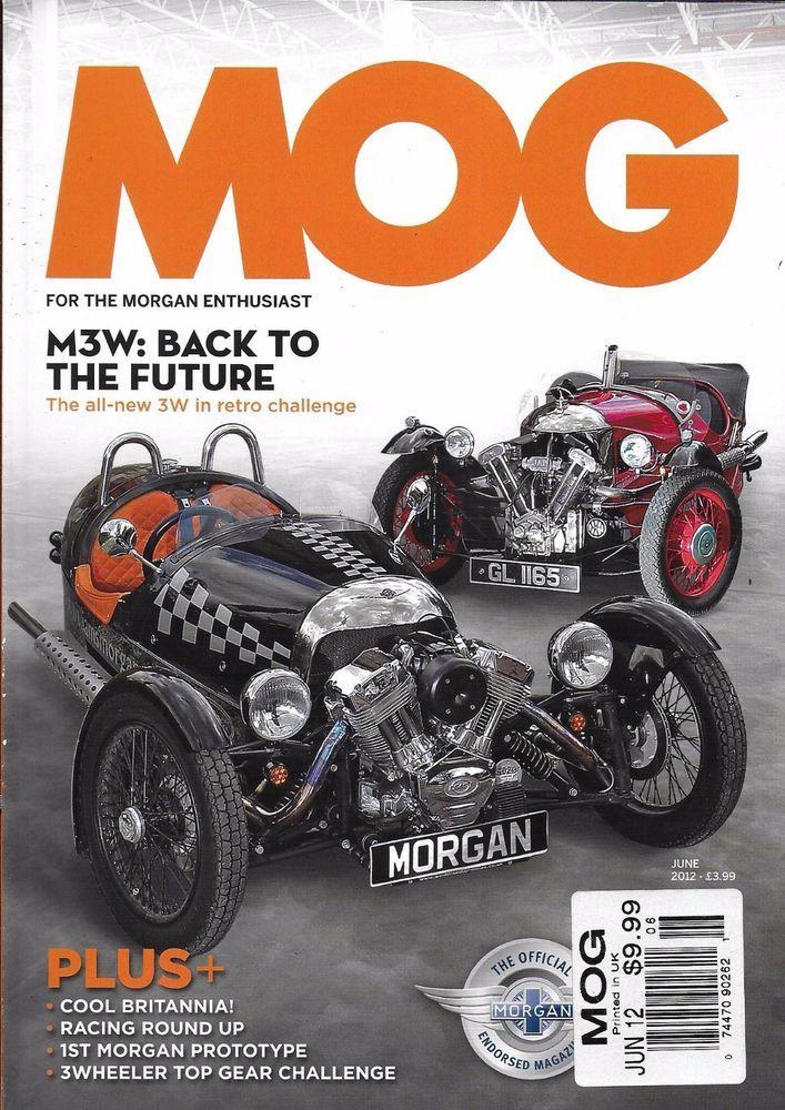 Mog car magazine M3W First Morgan factory prototype 3 Wheeler Top Gear challenge