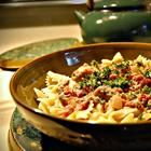 Sounds yummy!!: Bows Ties Pasta, Plum Tomatoes, Sweet, Rich Sauces, Bow Ties, Italian Sausages, Bowties, Heavy Cream, Bow Tie Pasta