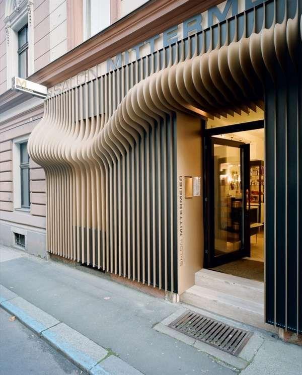 Sistemas de Fachadas | Fachada 3D de salón de belleza | http://sistemasdefachadas.com