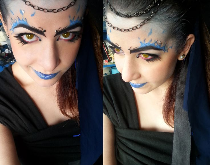 Inspired makeup to Hades the Hercules =D